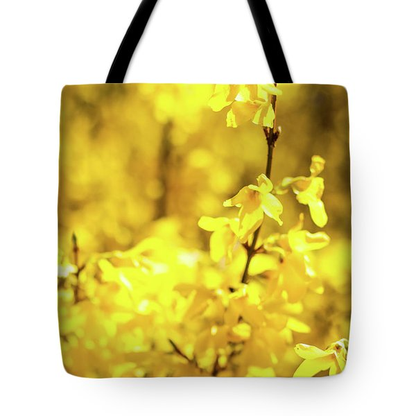 Tote Bag featuring the photograph Beautiful Yellow V by Anne Leven