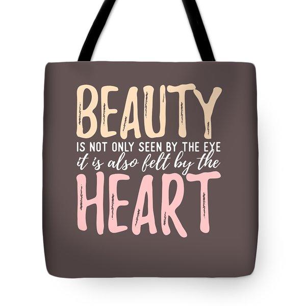 Beauty Heart Tote Bag