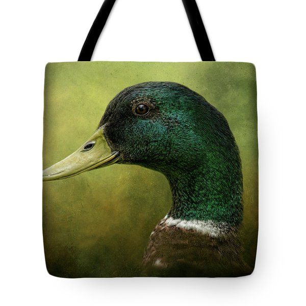 Beauty In Green Tote Bag