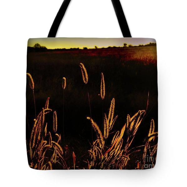 Beauty In Weeds Tote Bag