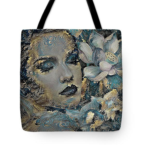 Beauty Nestled In Your Bloom 003 Tote Bag