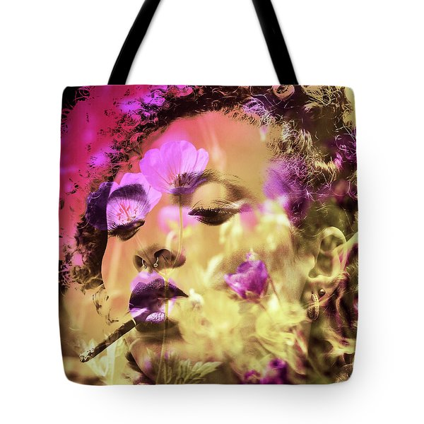 Tote Bag featuring the photograph Beauty Of Defiance by Susan Maxwell Schmidt