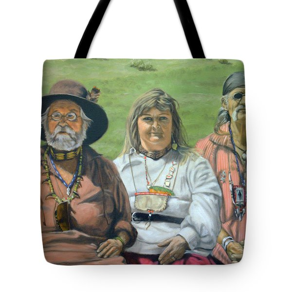 Beaver Camp Tote Bag
