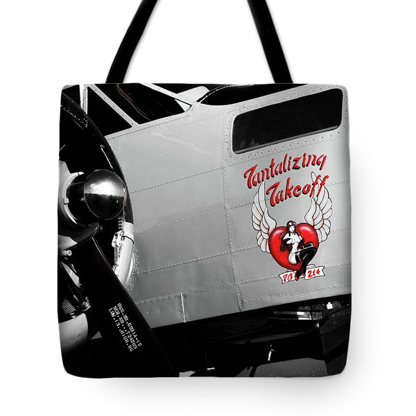 Beech At-11 In Selective Color Tote Bag
