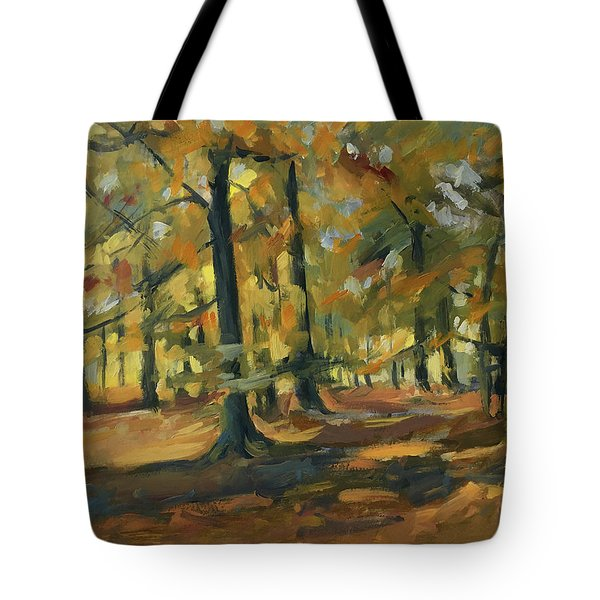 Beeches In Autumn Tote Bag