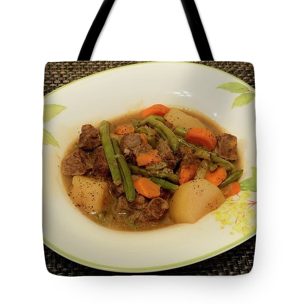 Beef Stew Serving 1 Tote Bag