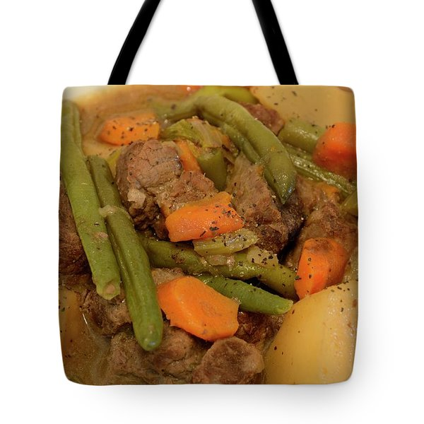 Beef Stew Serving Tote Bag