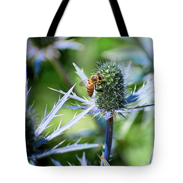 Bee's Got The Blues Tote Bag