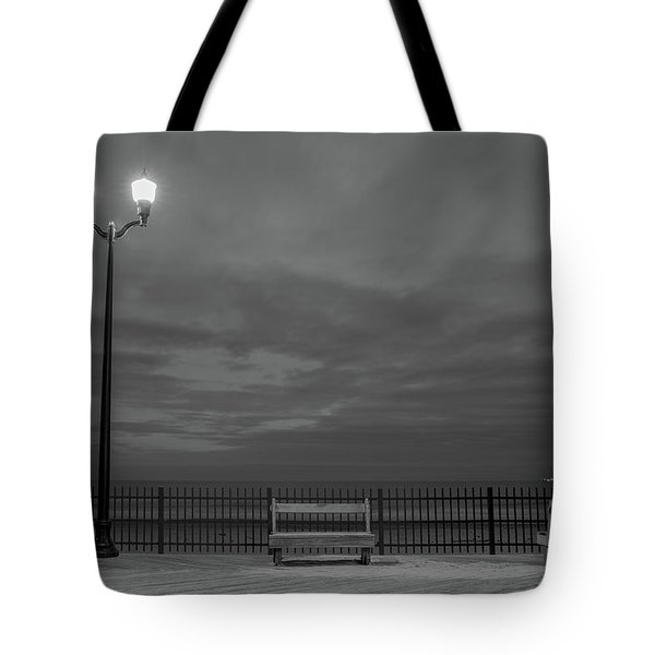 Before Dawn On The Boards Tote Bag