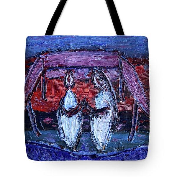 Beginning Of Journey Together Tote Bag
