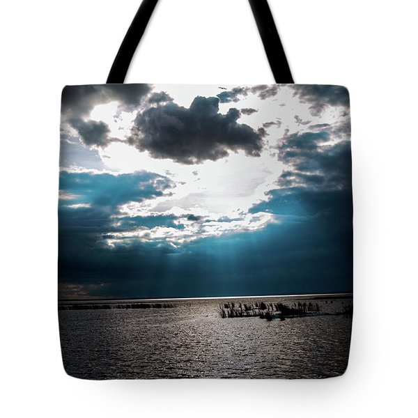 Beginning Of The End Of The Day Tote Bag