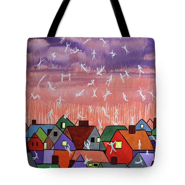 Being Caught Up In Slow Motion Thessalonians 14 16-18 Tote Bag