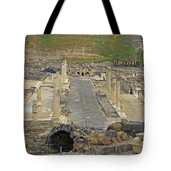 Beit Shean, Israel Tote Bag