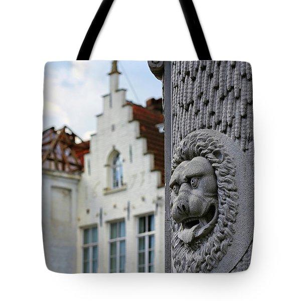 Belgian Coat Of Arms Tote Bag
