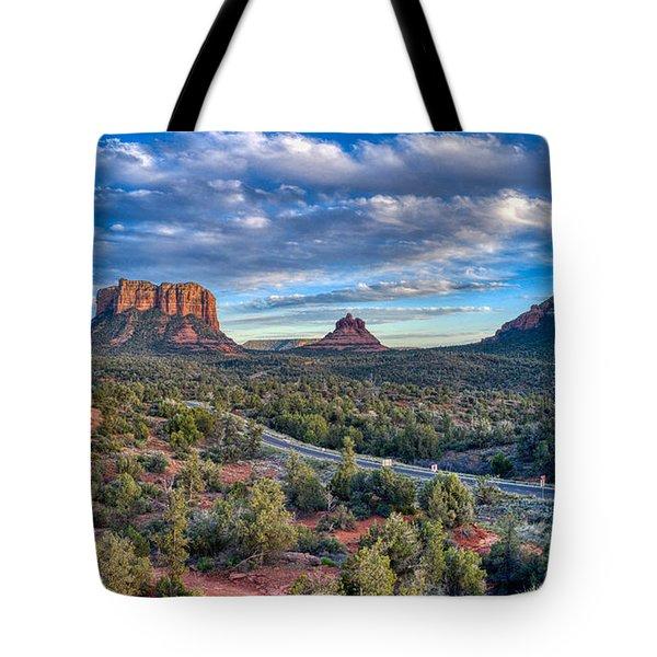 Bell Rock Scenic View Sedona Tote Bag