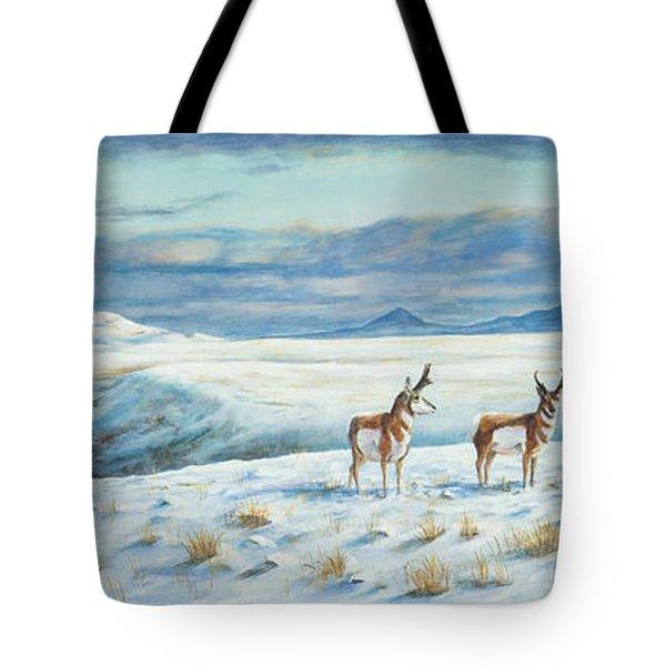Belt Butte Winter Tote Bag