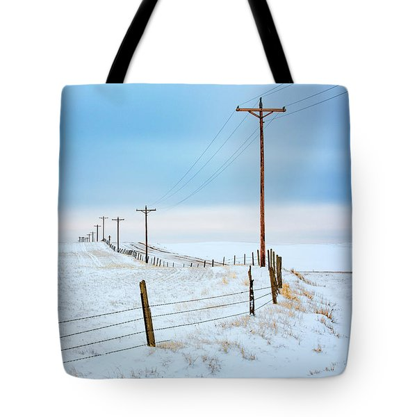 Bend In The Road Tote Bag