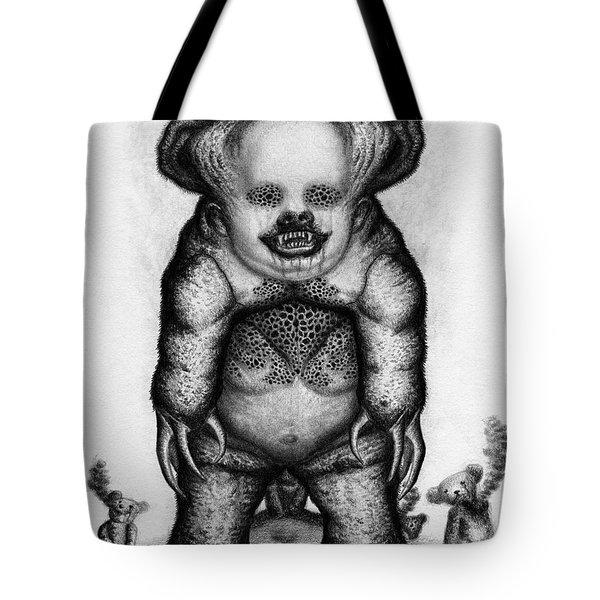 Benjamin The Nightmare Bear Artwork Tote Bag