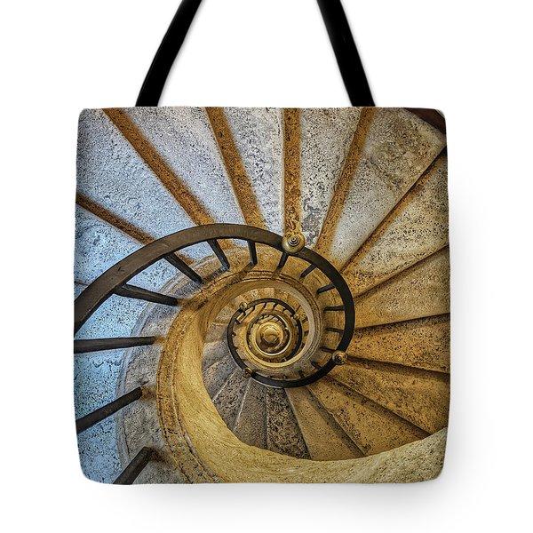 Bernini Staircase - Jo Ann Tomaselli Tote Bag