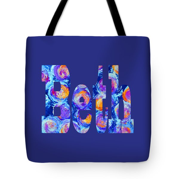 Tote Bag featuring the digital art Beth by Corinne Carroll