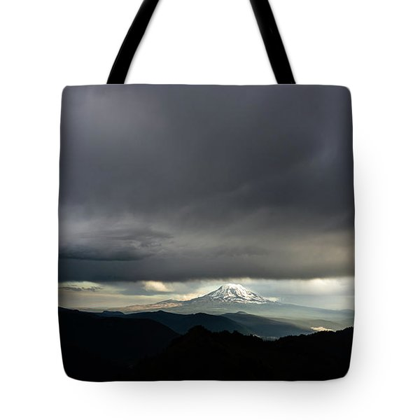 Between The Darkness Tote Bag