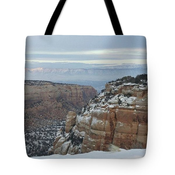 Between The Rocks Tote Bag
