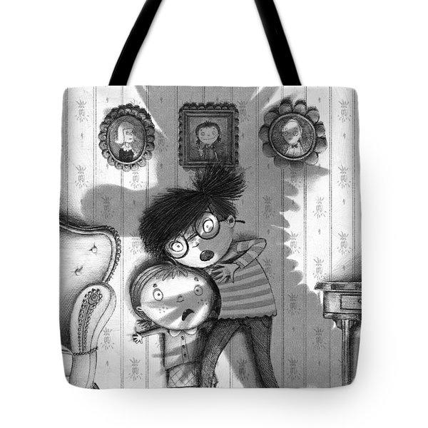 Beware Of The Snarkle Beast Tote Bag