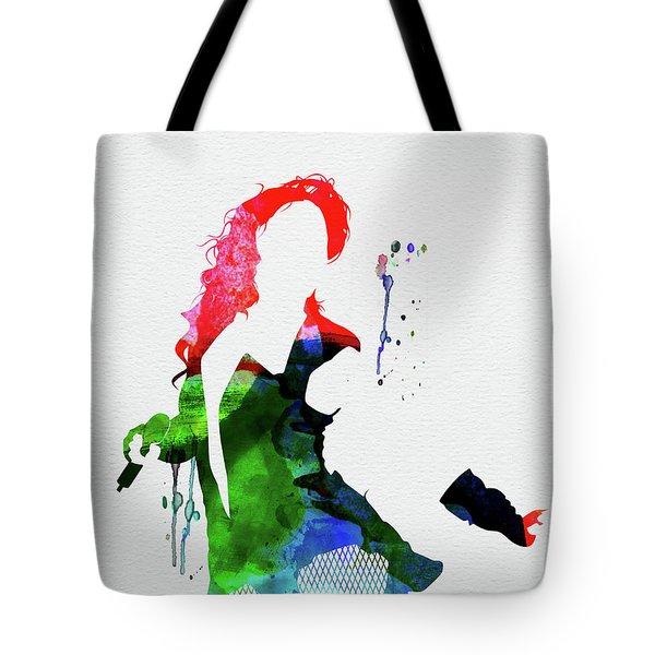 Beyonce Watercolor Tote Bag