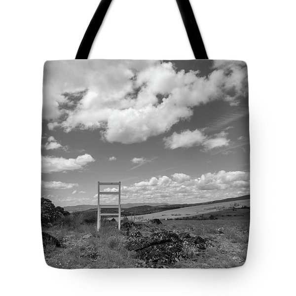Beyond Here The Chair Project Tote Bag