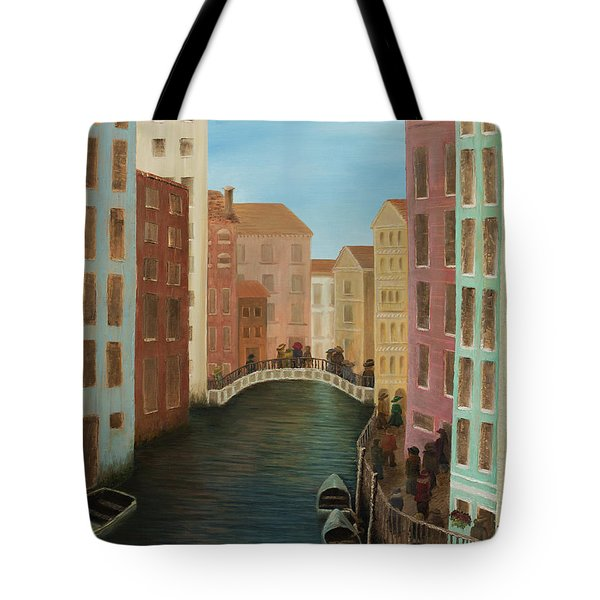 Beyond The Grand Canal Tote Bag