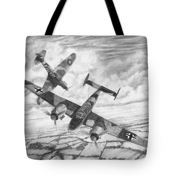 Bf-110c Zerstorer Tote Bag