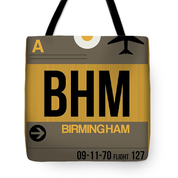 Bhm Birmingham Luggage Tag I Tote Bag