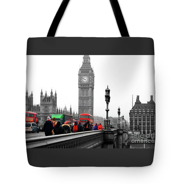 Big Ben  Houses Of Parliment Tote Bag