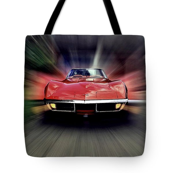 Tote Bag featuring the photograph Big Red by David Manlove