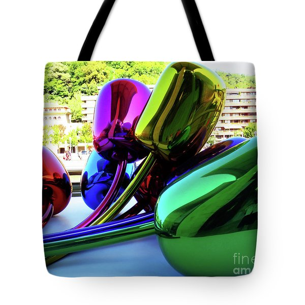 Tote Bag featuring the photograph Bilbao Bouquet by Rick Locke