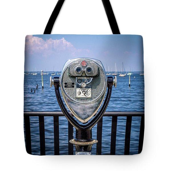 Binocular Viewer Tote Bag