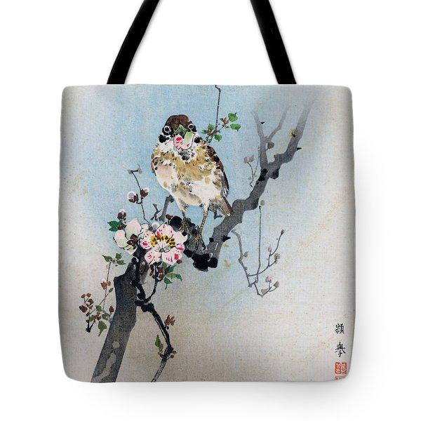Bird And Petal Tote Bag