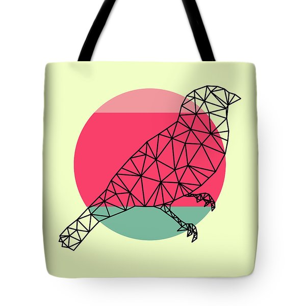 Bird And Sunset Tote Bag