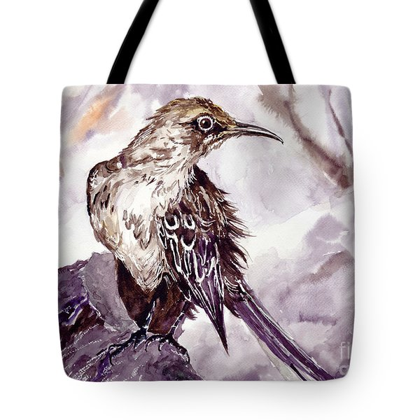 Bird On The Rock Tote Bag