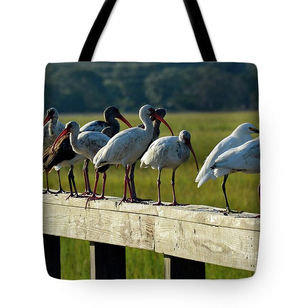 Birds Of A Feather On Jekyll Island Tote Bag
