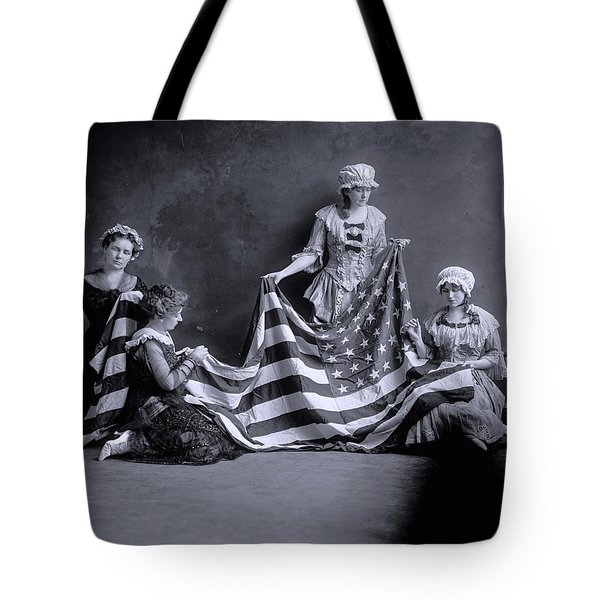 Birth Of The American Flag, 1905 Tote Bag