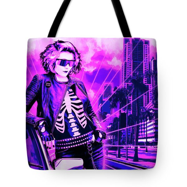 Biscayne And 5th Tote Bag