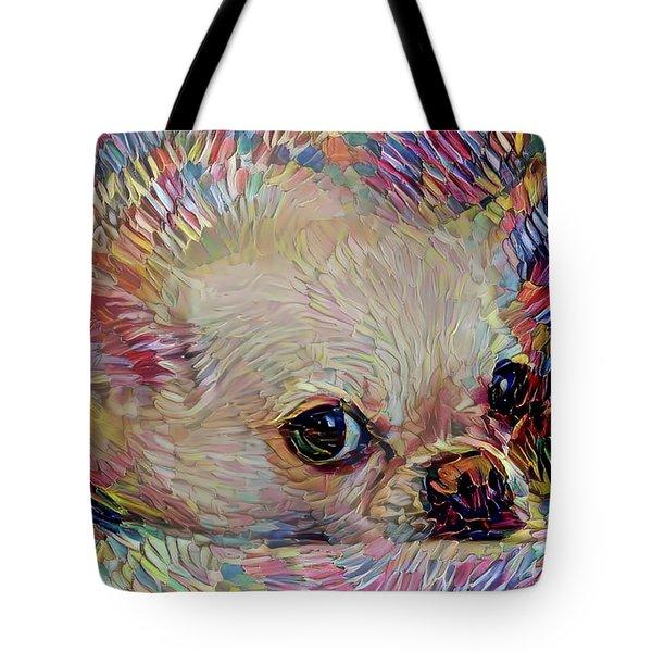 Bitsy The Chihuahua Tote Bag