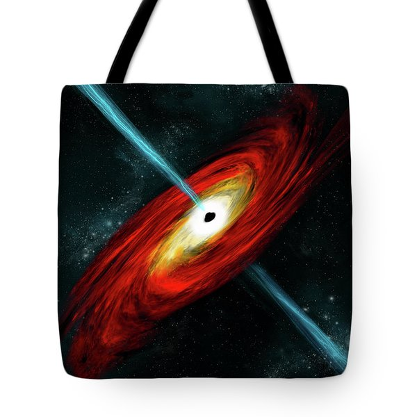 Black Hole No.6 Tote Bag