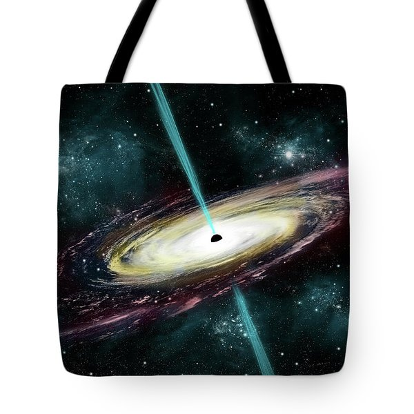 Black Hole No.7 Tote Bag