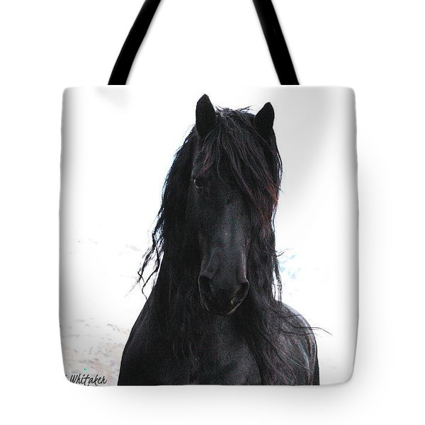 Black Pearl Gaze Tote Bag