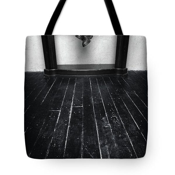 Black Shoes #9397 Tote Bag