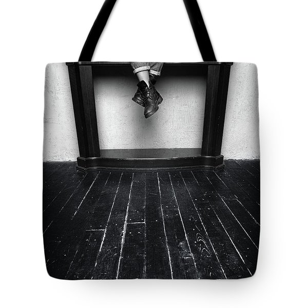 Black Shoes #9397 Tote Bag