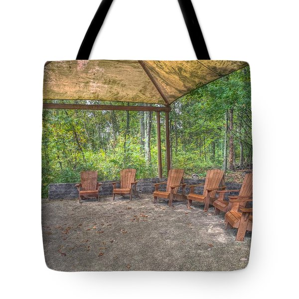 Blacklick Woods - Chairs Tote Bag