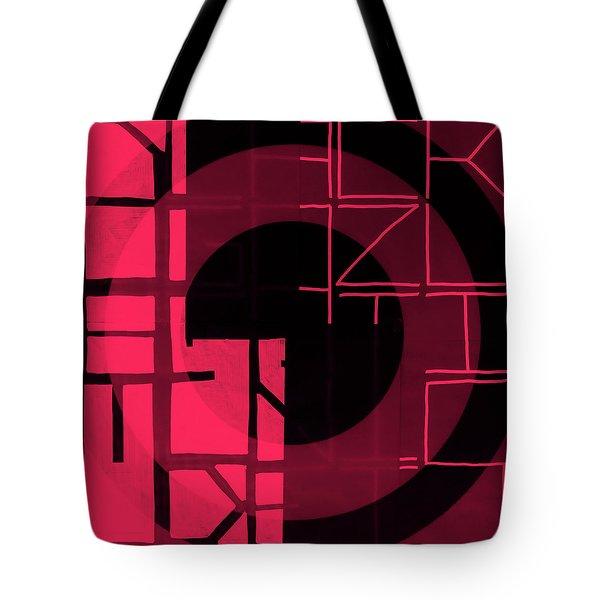 Three - Map Tote Bag